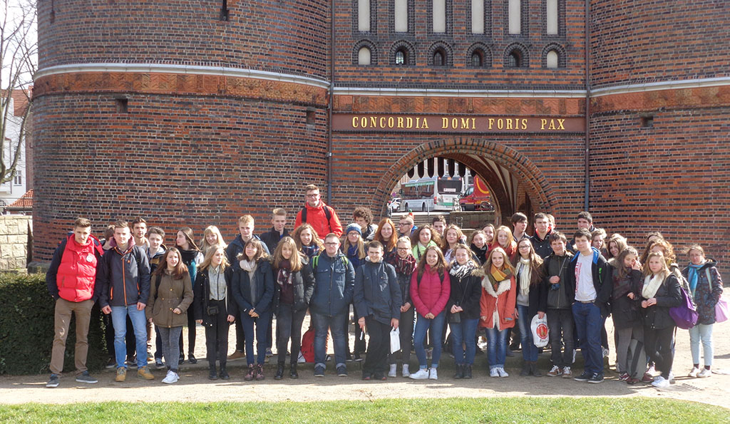 Photo de groupe à Lubeck