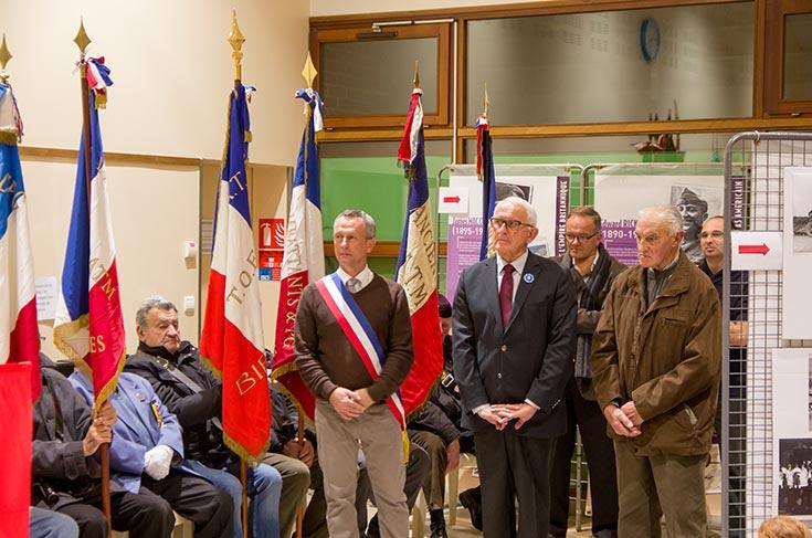 De gauche à droite : M. Duval, M. Buisine et M. Andrieu